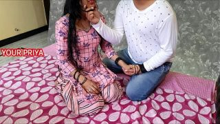 Cousin brother XXX hard fuck his sister Priya after her marriage – hindi roleplay sex – YOUR PRIYA