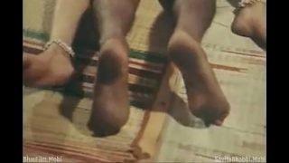 Cute Mallu Babe Kirian Completely Naked Lied Down