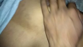 Desi wife with boyfriend sex in the night when husband on outoff