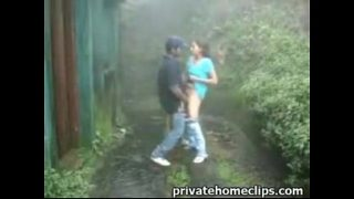 Horny Couple take a hike and fuck outdoor