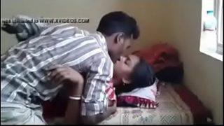 Horny new met desi couple having hard core gangbang