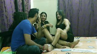 Luckily i fucked Indian hot xxx Bhabhi and Mature Aunty together Hindi audio ki shat