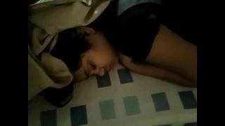 My Desi Indian girlfriend sleeping part 1