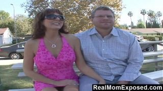 RealMomExposed – Hubby gets his kick watching wife fuck pro stud