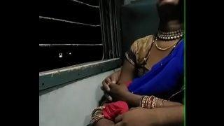 smooching a sleeping bhabhi in train